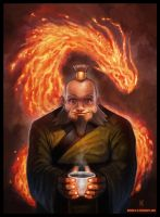 Uncle Iroh by Nemanja-S
