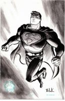 Superman HERO INITIATIVEsketch by DaveBullock