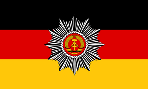 flag of the River Police DDR 1960 - 1990 by ShitAllOverHumanity