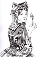 Queen of Spades by quoth-le-corbeau
