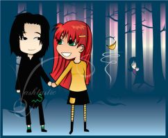 Lily x Snape by Vashtastic
