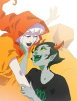 HomestuckOTP1: Rose-Kanaya by LadyBrot
