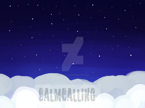 Star Fall Background by calmcalling
