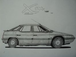 Citroen XM V6 by BlackLeatheredOokami