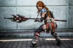 Diablo 3 Barbarian by illyne