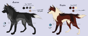Aaron + Kayla: Quick Ref by The-Nutkase
