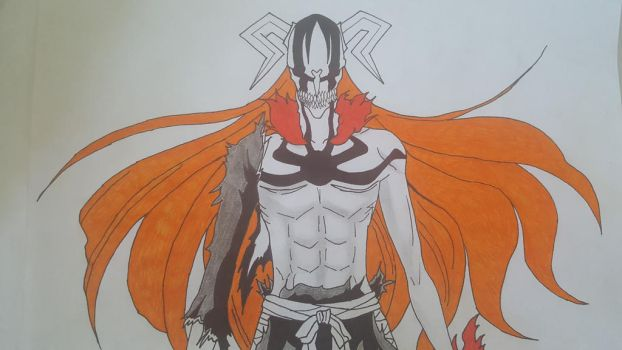 [Bleach] Ichigo full hollow transformation by TheTanlor