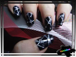Black Friday Nailart by Yamialexa