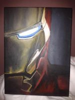 Iron Man painting by katierocks252
