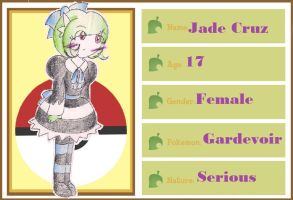 Pokemon-Crossing App - Jade by CaramelCreampuff
