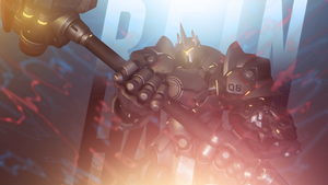 Overwatch - Reinhardt Wallpaper by MikoyaNx