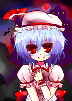 EoSD:Remilia by ainokiseki