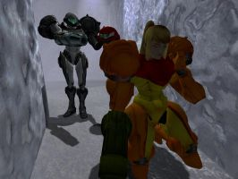 Samus The Captive: Part One by alyxcaptor