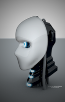 innocent robot bust by racer1110