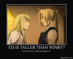 ed and winry by Shadowthehedgehog97