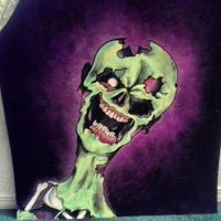 Finished zombie by ArtistB