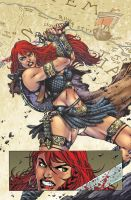 Red Sonja #67_ Pag 01 by MARCIOABREU7
