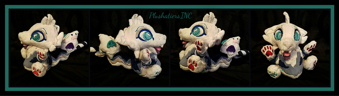 Boo the Cinnadog Chibi Plush by PlushatiersINC