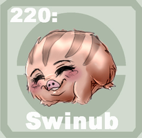 220 Swinub by Pokedex