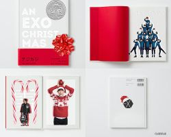 Exo's Christmas Book by ajikaji