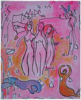 Tribute to Marc Chagall by comteskyee