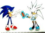 Sonic and Silver - Chillidog by connieiscrazy
