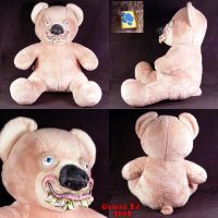 Goofy Gunny the Bear plush by Undead-Art