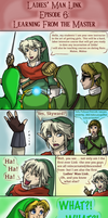 Ladies' Man Link Ep. 6: Learning From the Master by InkRose98