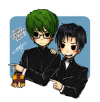 KnB: 'Is that for me?' by xCheckmate