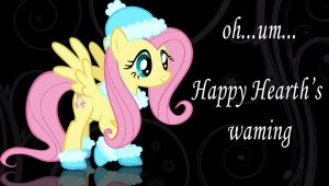 Happy Hearth's warming from FLuttershy! by Chaz1029