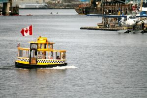 Canadian Taxi boat by Pabloramosart