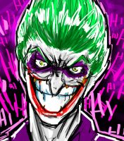 Joker speed avatar by Soliduskim