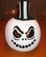 Jack Skellington O' Lantern by DeadlyOpheliac