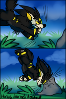 Horus Learns Headbutt by SushiMeep