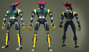 Megabyte 3D model by AdoubleA