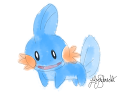 Mudkip by Aria-Melodie