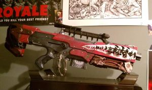 Bandit gun borderlands 2 cosplay costume marauder by kiloskree