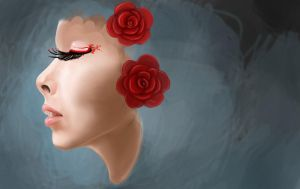 dreaming roses...PROGRESS by SunnyFire