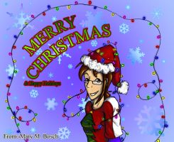 .:2011:.Merry Christmas n' Happy New Year by MidNight-Vixen