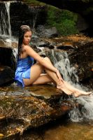 Stacey - wet blue 3 by wildplaces