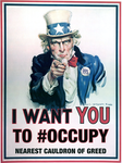 Uncle Sam Occupy by gonzoville