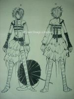 Visual kei fashion design 2 by Alzheimer13