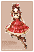 Pirate Lolita Design by nokecha