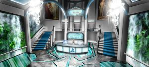 The Center - entrance lobby by ThoRCX