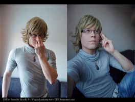 Barnaby Brooks Jr. - Makeup and wig testing~ by Elffi