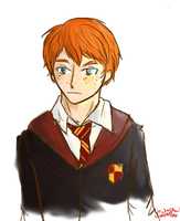 Ronald Weasly by Chere-and-Rose
