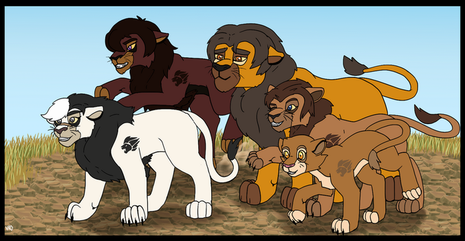 The Voltron Lion Guard by Vysevee