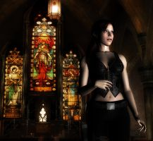 Claire - Church by bertoldizinho