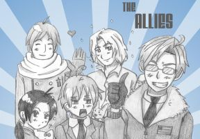 Hetalia: The Allies by ExclusivelyHetalia