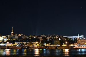 Belgrade downtown by schleewoon